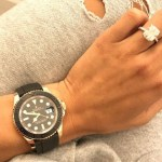 Draya Michele's Radiant Cut Diamond Ring