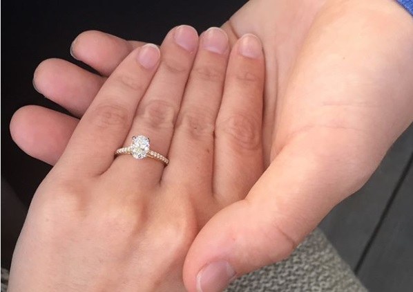 Gabi Dugals Oval Cut Diamond Ring