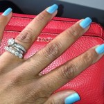 Harris Faulkner's Round Cut Diamond Ring