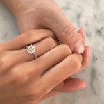 Martine Cajucom's Round Cut Diamond Ring