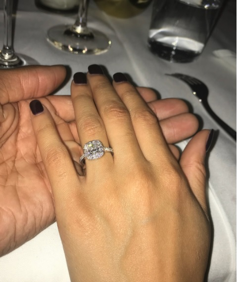fd8562446086 Sydel Curry s Cushion Cut Diamond Ring