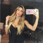 Claudia Sampedro's Square Shaped Diamond Ring