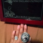 Michelle Powell's Emerald Cut Diamond Ring