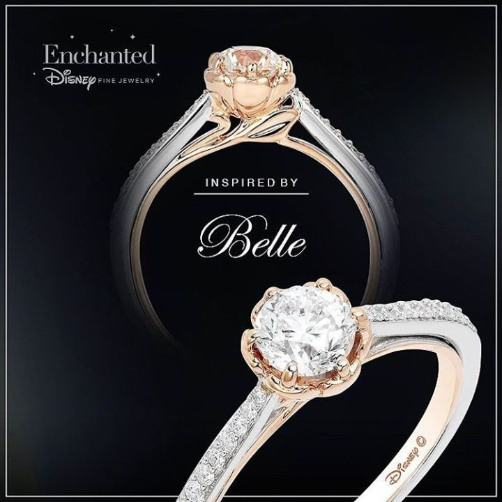 Disney Themed Engagement Rings