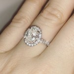 Shelley Rae's Oval Cut Diamond Ring