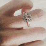 Siobhan Marshall's Round Cut Diamond Ring