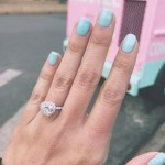 Megan Nicole's Heart Shaped Diamond Ring