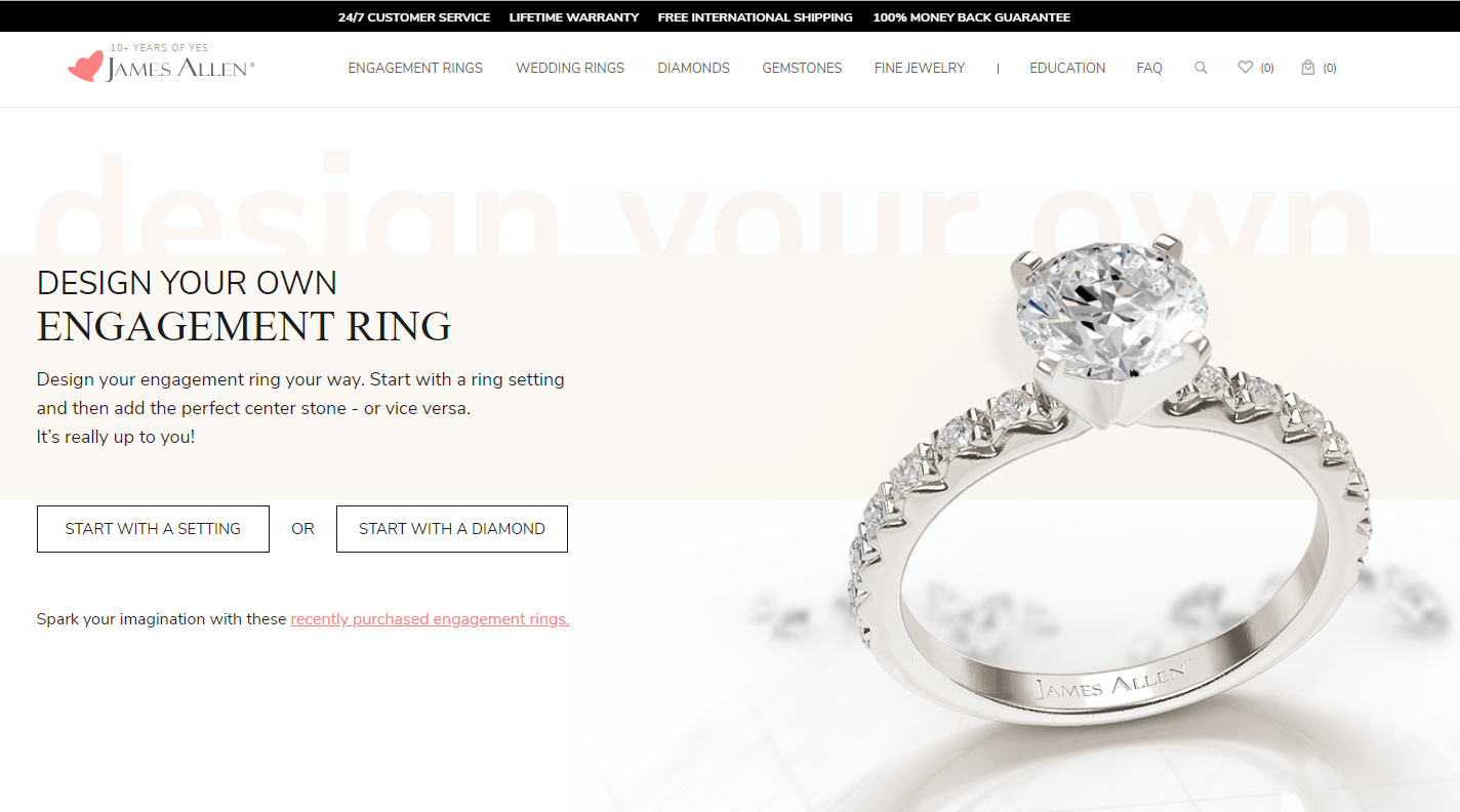 b34bb2eb7c5a0 Buying an engagement ring online | The Engagement Ring Bible