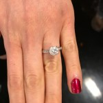 Daphne Deloren's Round Cut Diamond Ring