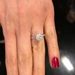 Daphne Deloren's Round Cut Diamond Ring