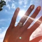 Lisa Grant's Square Shaped Diamond Ring