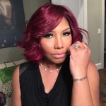 Traci Braxton's Square Shaped Diamond Ring
