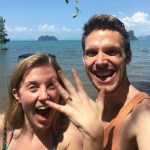 Maddie Moate's Unique Amber Engagement Ring