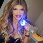 Teresa Giudice's Round Cut Diamond Ring