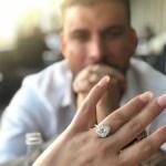Brittany Cartwright's 3 Carat Cushion Cut Diamond Ring