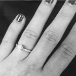 Brooke Kinsella's Round Cut Diamond Ring