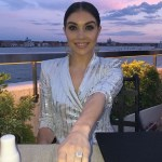 Jenna Johnson's Square Shaped Diamond Ring