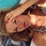Annika Backes' Oval Cut Diamond Ring