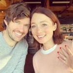 Antonia Prebble's Round Cut Diamond Ring