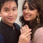 Deeksha Kanwal Sonalkar's Round Cut Diamond Ring