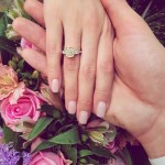 Kate Grigorieva's Emerald Cut Yellow Diamond Ring