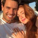 Marina Ruy Barbosa's Round Cut Diamond Ring