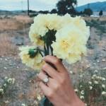 Nicole McCormick's Flower Shaped Diamond Ring
