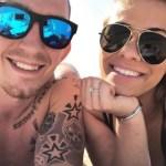 Paige VanZant's Square Shaped Diamond Ring