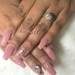 Gloria Bluebird's Round Cut Diamond Ring