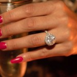 Lala Kent's Round Cut Diamond Ring