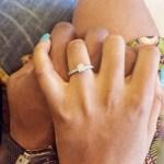 Thabsie's Round Cut Diamond Ring