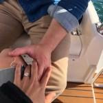 Yolanda Pecoraro's Round Cut Diamond Ring