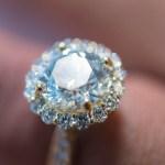 Breion Allen's Round Cut Diamond Ring
