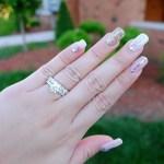Ehra Madrigal's Round Cut Diamond Ring
