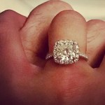 Ana Navarro's Princess Cut Diamond Ring