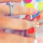 Elle Exxe's Round Cut Diamond Ring