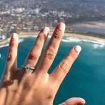 Ranae Ayris' Oval Cut Diamond Ring