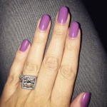Tati Westbrook's Round Cut Diamond Ring
