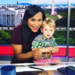 Kristen Welker's Square Shaped Diamond Ring