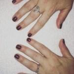 Lisa Riley's Square Shaped Diamond Ring