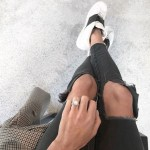 Charlotte Ennels' Cushion Cut Diamond Ring