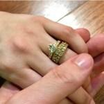 Danielle Padilla's Round Cut Diamond Ring