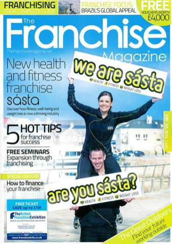 The Franchise Magazine Cover
