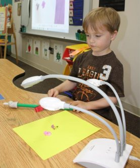 early childhood technology document camera