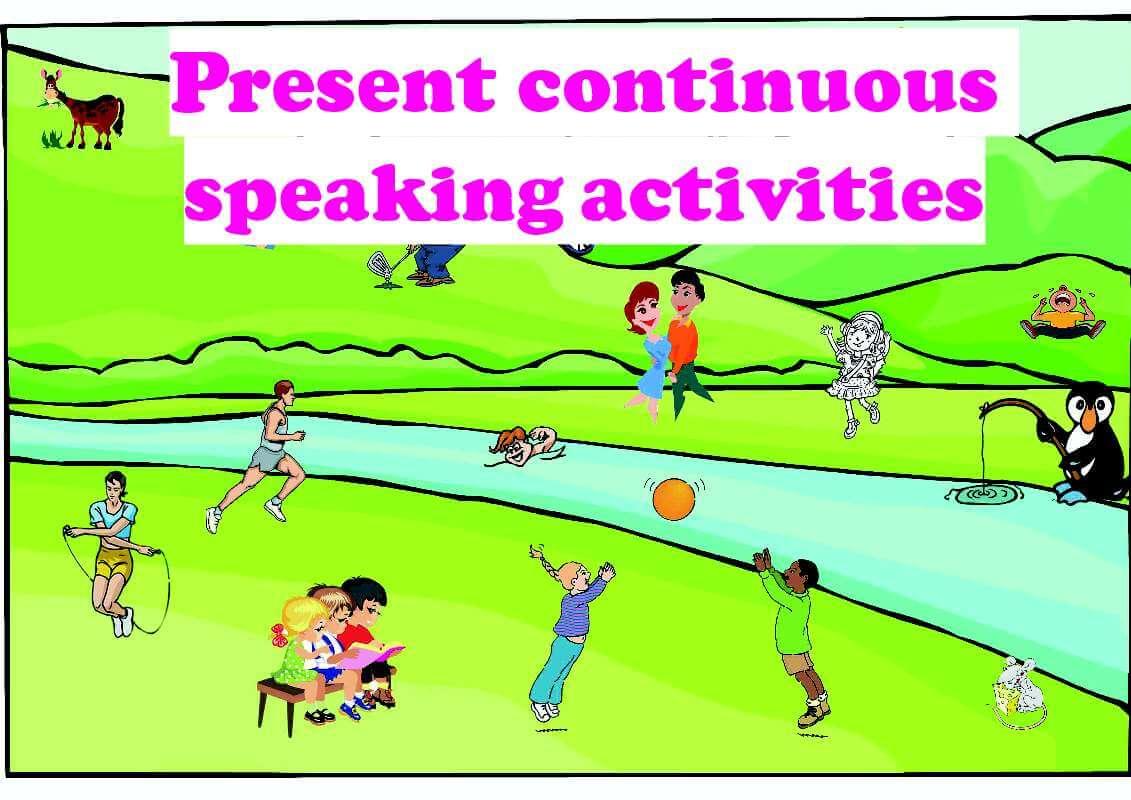Present Continuous Tense Speaking