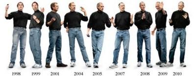 ستيف جوبز مع تغير الوقت