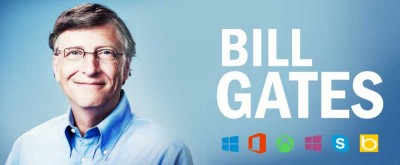 Bill Gates, co-founder of Microsoft