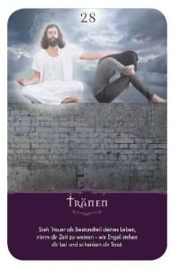 Gratis Kartenlegen Kraft der Engel Orakel Karte 28 Tränenl