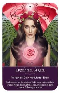 Gratis Kartenlegen Kraft der Engel Orakel Karte 7Erzengel Ariel