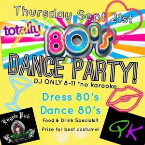 80's Night Dance Party